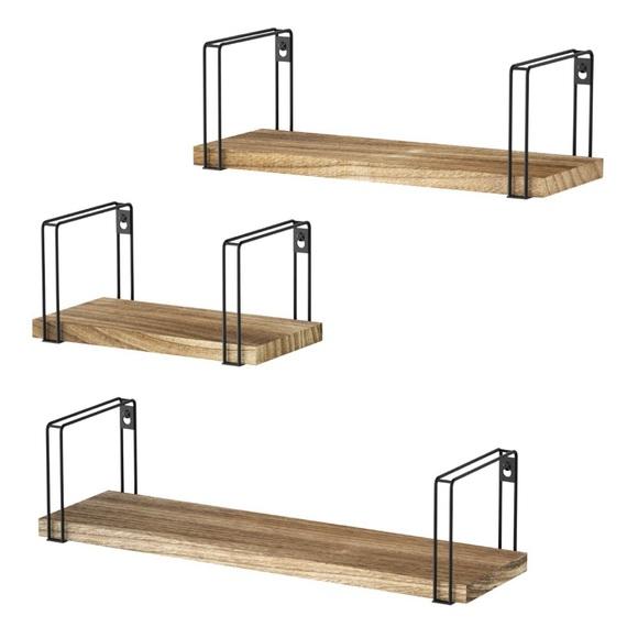 Other - 🎀Set of 3 Solid Wood Floating Shelves 🎀